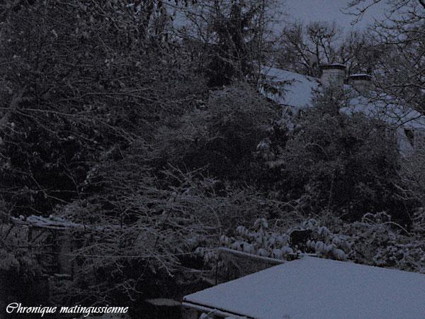 Vu de ma fenêtre, 17 décembre 2010