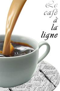 Le café à la ligne