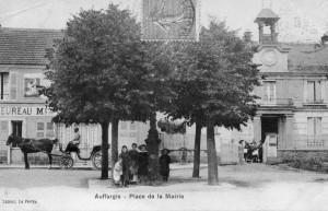 Auffargis Place de la Mairie 1905