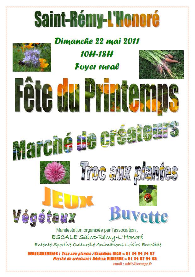 Fête du Printemps, Saint-Rémy