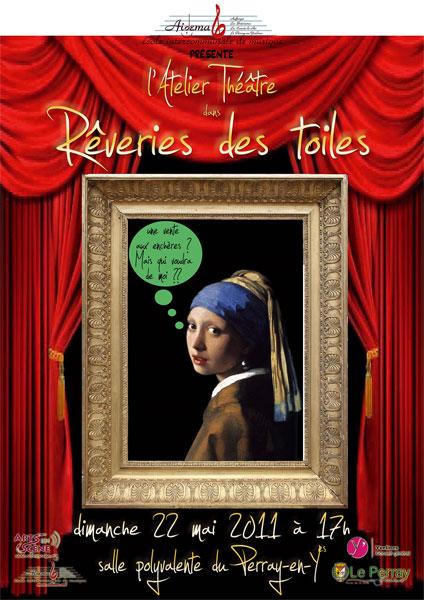 Rêverie des toiles (Aidema, 22 mai 2011)