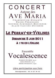 Concert Ensemble Vocalescence