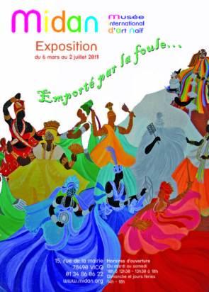 """Midan, exposition """"emporté par la foule..."""", mars-juillet 2011"""