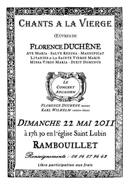22 mai 2011, concert Rambouillet