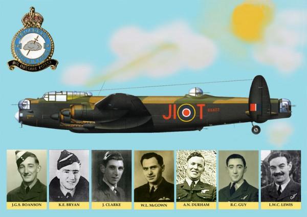 Aux aviateurs de la R.A.F. tombés dans notre secteur - Roger Guernon