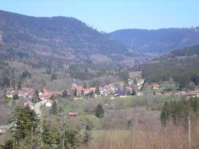 Le village de Luvigny