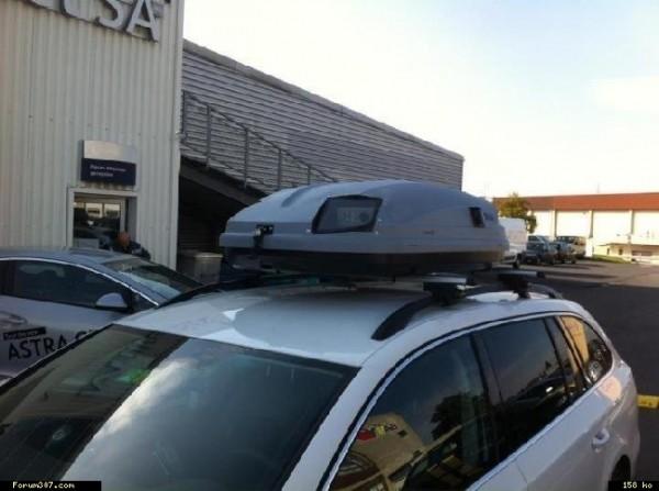 radar coffre de toit