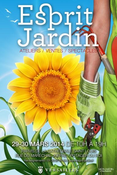Affiche Esprit JArdin 2014