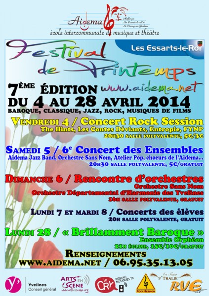 Festival de printemps 2014 (diff)