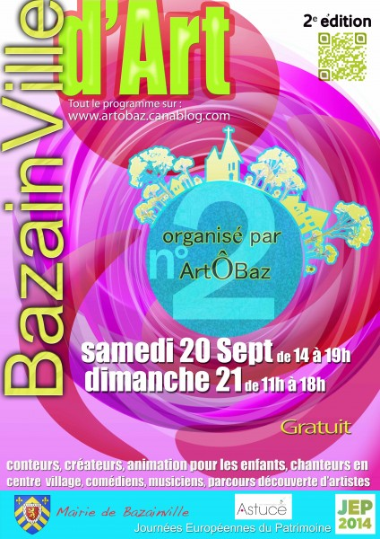 affiche BazainVille d'Art2014 A3