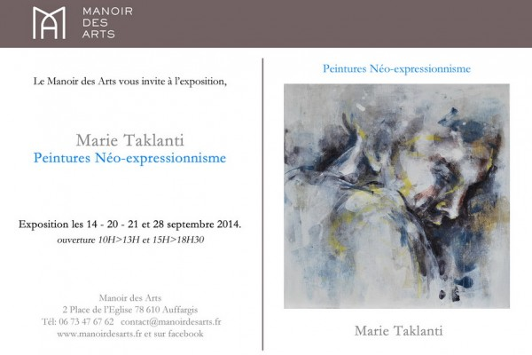 e-flyer Marie Taklanti