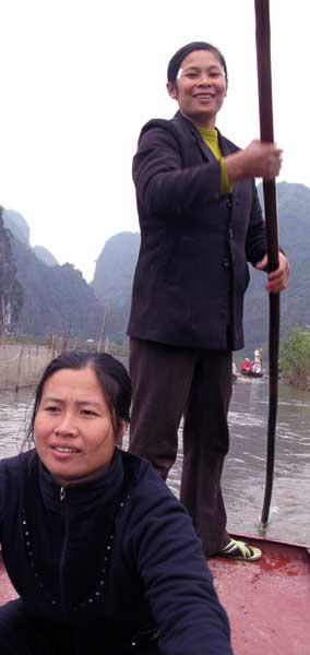 Sourires de la baie d'Halong terrestre, Vietam