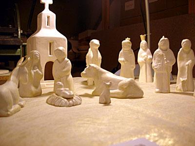 Crêche blanche (Noël 2006) - I. Ducourtioux