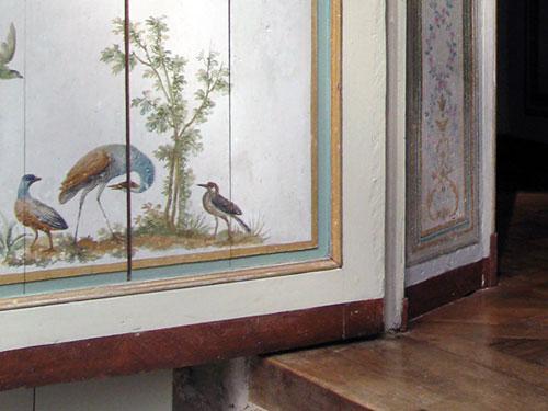 Fines peintures du petit salon