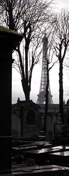 Au cimetière de Passy, Paris 16ème