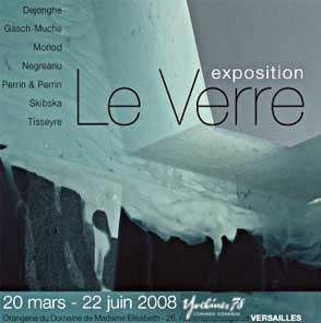 Le verre sculpture - Versailles