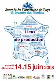 Journée des patrimoines de pays 2008