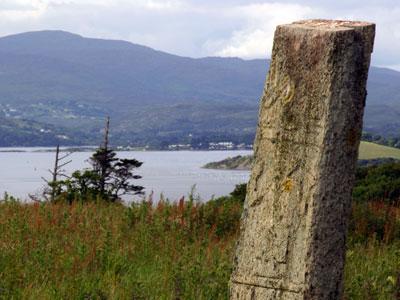 Kilnaruane Carved Pillar Stone
